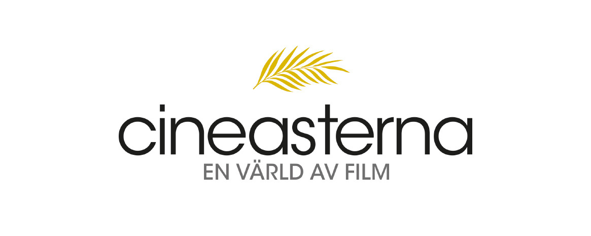 svart text av Cineasterna - en värld av film